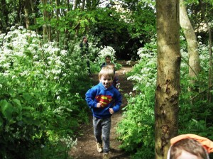 ....Here we go to Forest School...